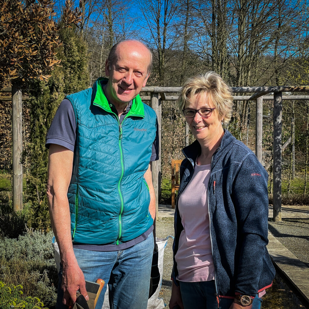 Ehepaar im Ehrenamt der Landesgartenschau